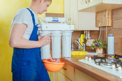A water filtration system is a good investment when selling a home.