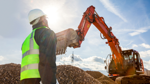 Professional excavators have insurance, license, and bond.